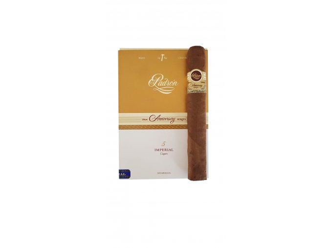 Padron 1964 Imperial Natural 5s Box 3