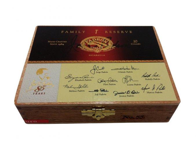 Padrón Family Reserve No.85 Maduro 10ks box