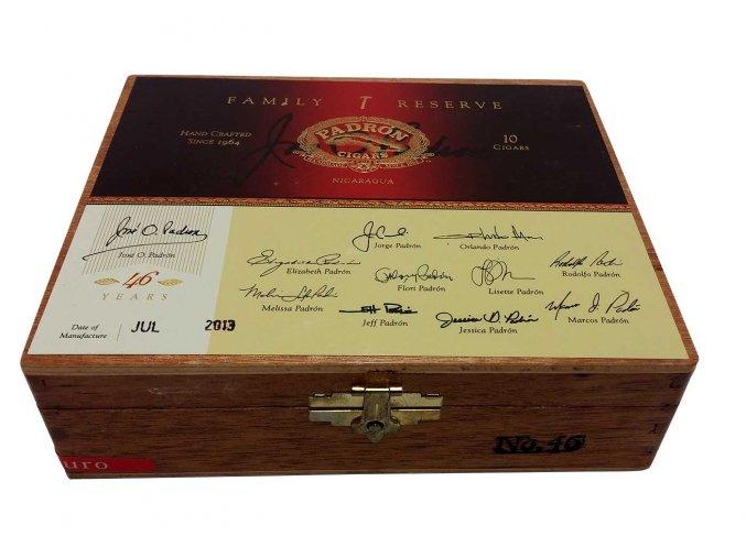 Padrón Family Reserve No.46 Maduro 10ks box