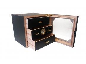 humidor kabinet 150ks doutniku cerny 1340x840