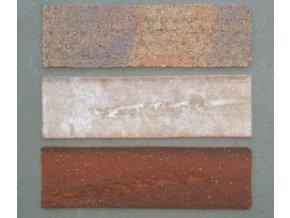 119 vzorky cihlovych obkladu elastolith