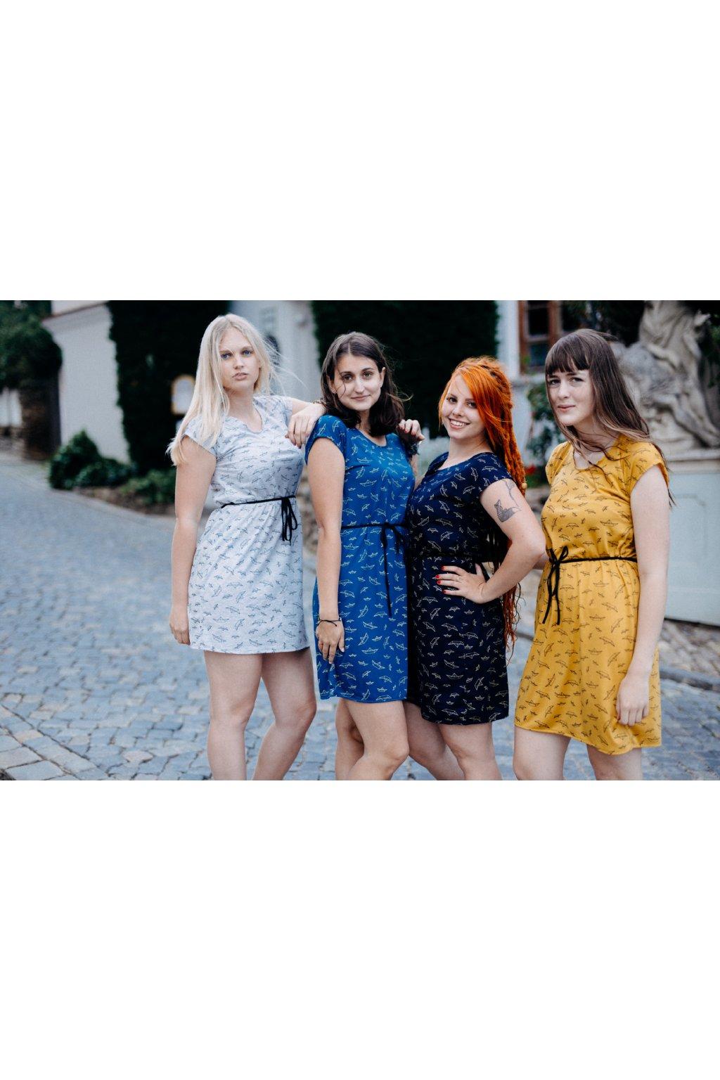 šaty LODIČKY v barevných variantách