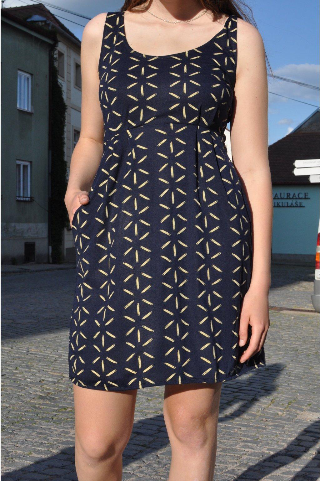 šaty ITALKY HVĚZDA v barevných variantách