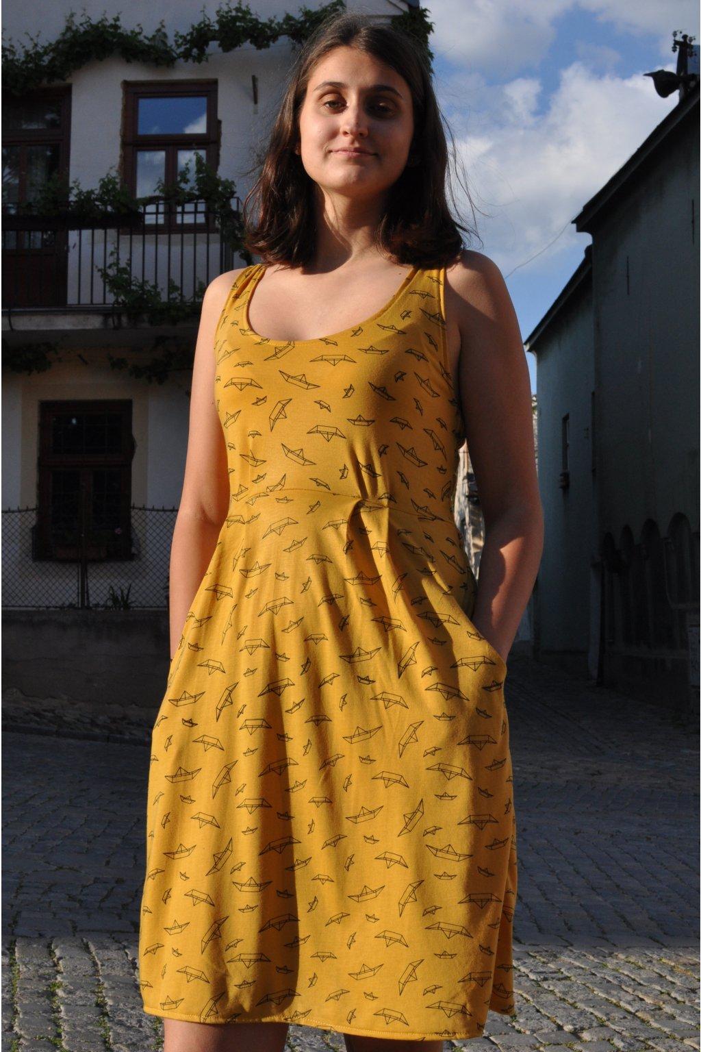 šaty ITALKY LODIČKY ČERNÉ v barevných variantách