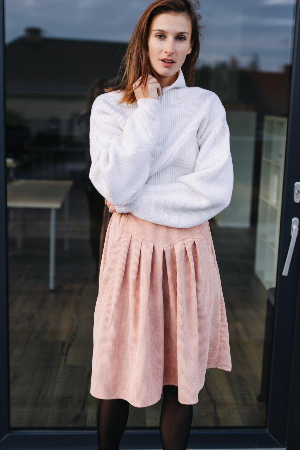 LOSOSOVÁ sukně s klínem