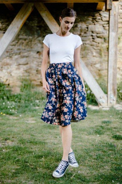 sukně KVĚTY