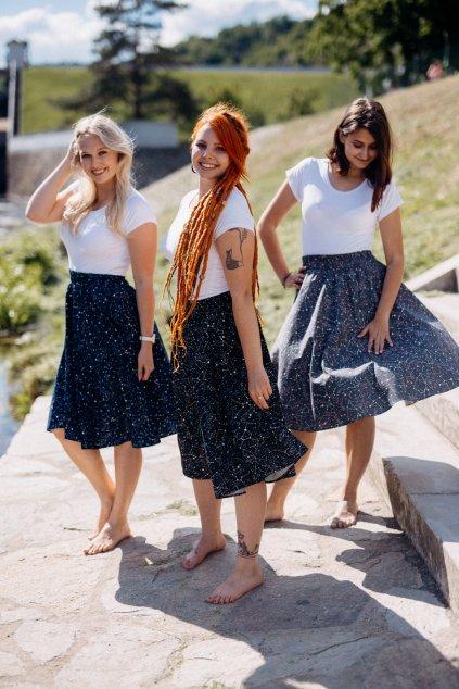 sukně SOUHVĚZDÍ v barevných variantách