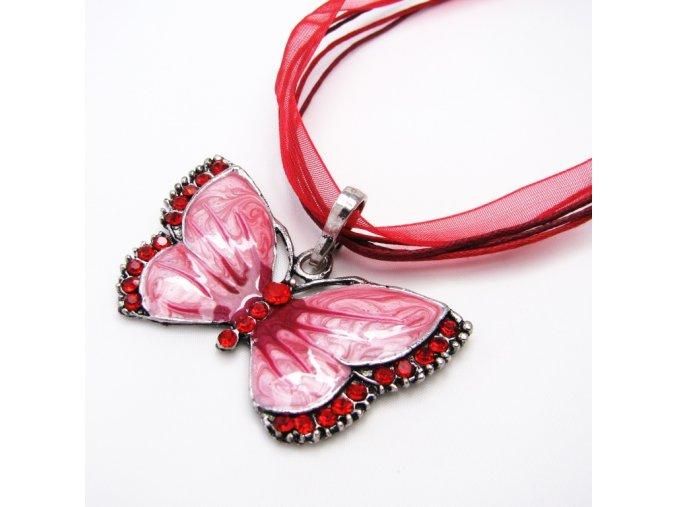 BHS0060 nahrdelnik cerveny motyl