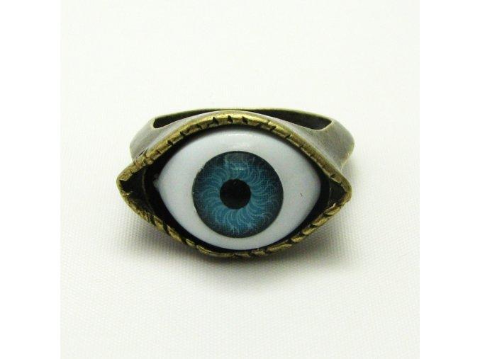 BPV0014B mosazny prsten oko
