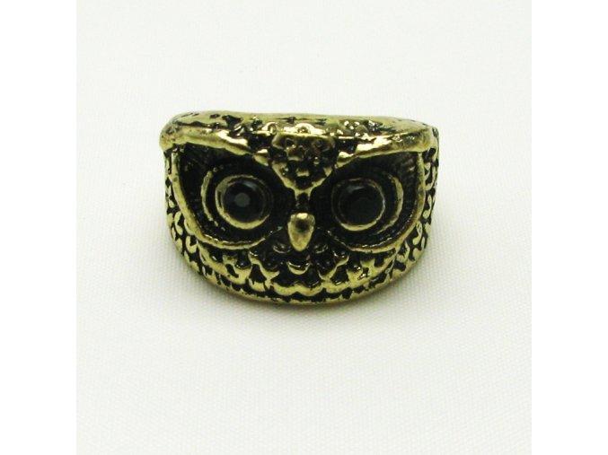 BPV0019A mosazny prsten sovicka