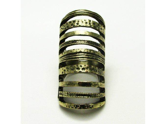 BPV0055 mosazny prsten