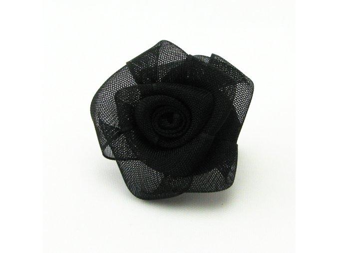 Květinka, brož, 25mm