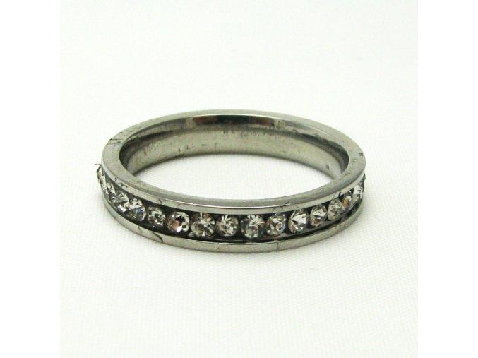 BPK0094 ocelovy prsten s kaminky