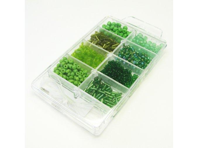 SKK0008 sada koralku zelena