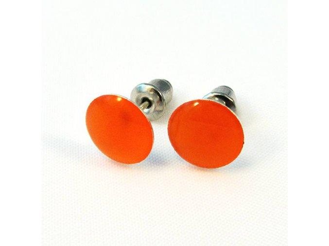 BNC0015C nausnice oranzove pecky