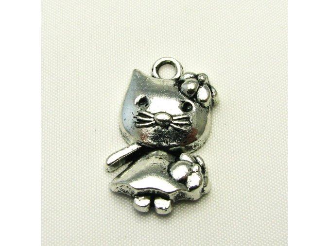 KPC0098 privesek kocicka kitty