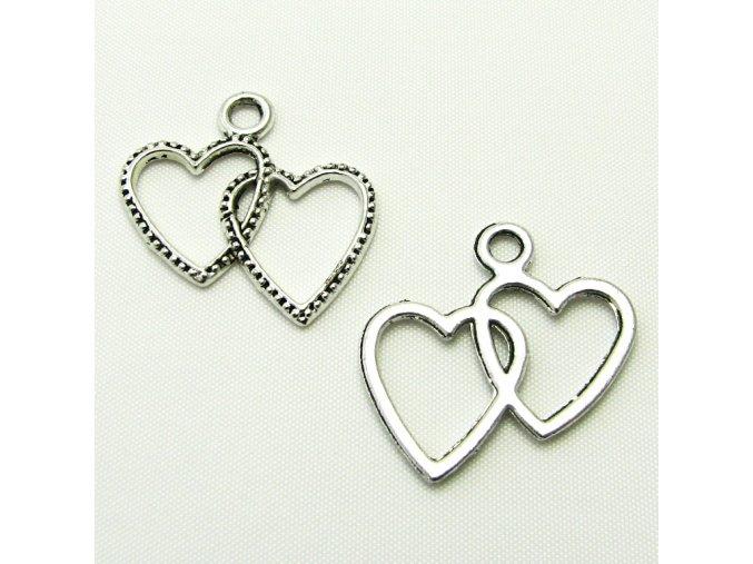 KPC0143 privesek srdce