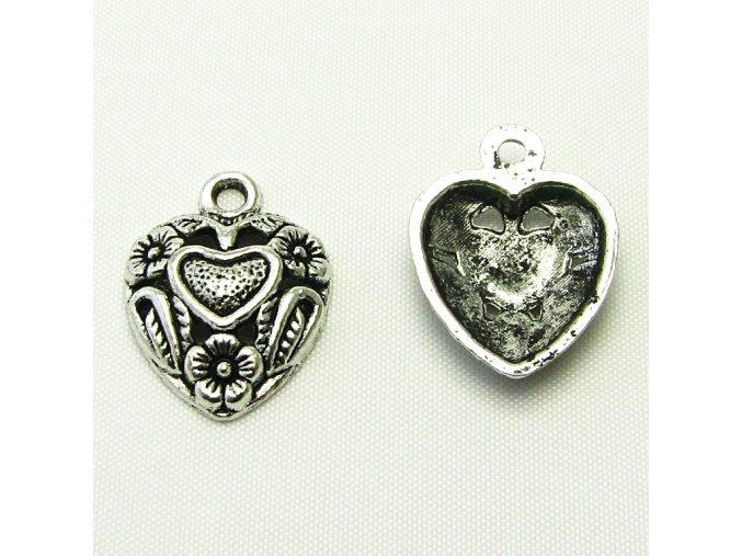 KPC0144 privesek srdce