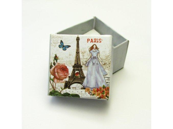 Dárková krabička na šperky, 5x5cm
