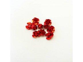 RHL0003L hlinikove ruzicky cervene