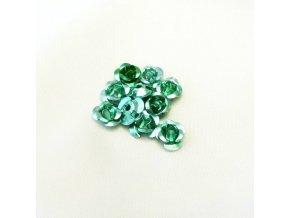RHL0003N hlinikove ruzicky zelene svetle