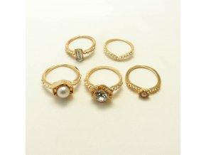 BPK0182 kovove prsteny s kaminky