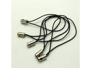NPM0002A poutko snurka na mobil cerna