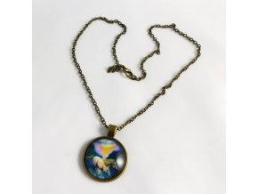 BHR0539 medailon s koniky