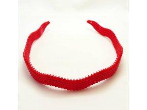 BVC0115A celenka vroubkovana cervena