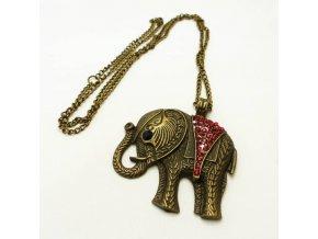 BHR0570 nahrdelnik slon s kaminky