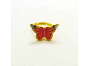 BPD0140 detsky prsten motylek