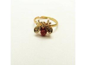 BPD0189 prstynek vcelicka cervena
