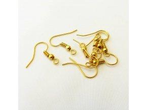 KNA0014 nausnicove zapinani afrohacek zlaty