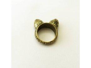 BPV0083 kovovy prsten usi