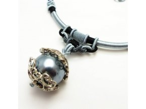 BHN0088 privesek na snurce perla