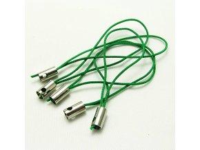 NPM0002J poutko snurka na mobil zelena