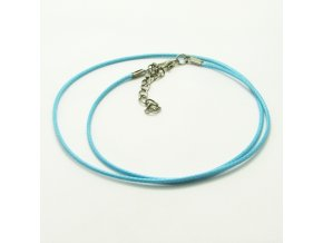 NSZ0019 voskovana snurka modra