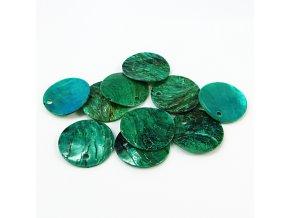 RPP0001F prirodni perlet zelena