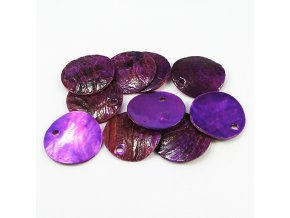 RPP0001G prirodni perlet fialova