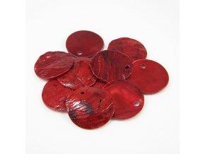 RPP0001I prirodni perlet cervena