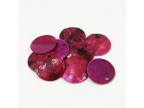 RPP0001J prirodni perlet ruzovofialova