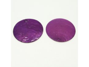 RPP0006E prirodni perlet fialova