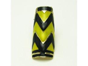 BPV0025 zlaty prsten žlutočerný
