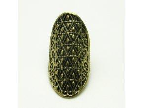 BPV0027 mosazny prsten