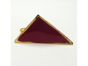 BPV0056 zlaty prsten trojuhelnik