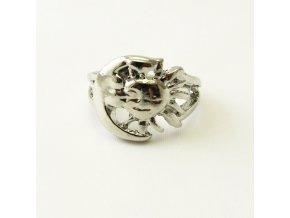 BPV0077 kovovy prsten slunicko