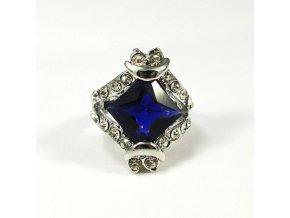 BPK0007A prsten s fialovym kamenem