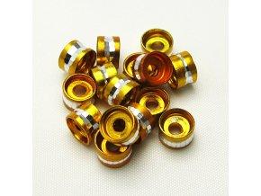 RHL0004F hlinikove rondelky zlute