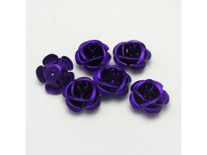 RHL0005D hlinikove ruzicky fialove