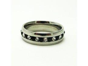 BPK0095 ocelovy prsten s kaminky